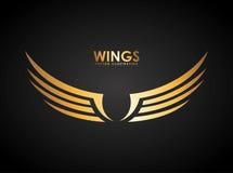 Vleugelsontwerp stock illustratie