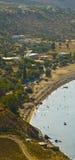 Vlicha beach, Rhodes Stock Image
