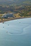 vlicha de Rhodes de golfe Images libres de droits