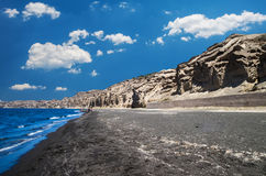 Vlichada beach, Cyclade islands, Greece Royalty Free Stock Images