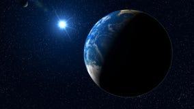 Vlieg aan Aarde stock illustratie