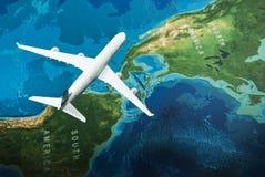 Vlieg aan Amerika Stock Foto's