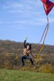 Vlieg een vlieger Royalty-vrije Stock Foto's