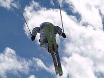 Vlieg in hemel Royalty-vrije Stock Afbeeldingen