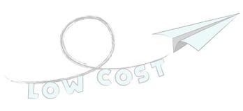 Vlieg lage kosten royalty-vrije illustratie