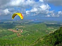 Vlieg in Monte Toro, Menorca stock foto's