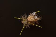 Vlieg Visserijvlieg met Varkenshaar royalty-vrije stock fotografie