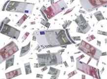 Vliegend Contant geld Royalty-vrije Illustratie