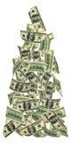 Vliegend geld Royalty-vrije Stock Foto's