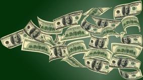 Vliegend geld Stock Foto
