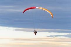 Vliegend glijscherm Stock Foto's