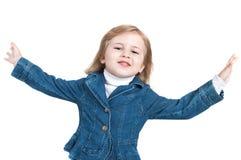 Vliegend meisje Royalty-vrije Stock Afbeelding