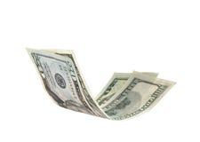 Vliegend ons dollar Stock Foto