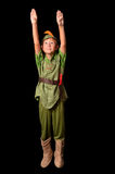 Vliegend Peter Pan Stock Foto's