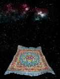 Vliegend tapijt royalty-vrije stock afbeelding