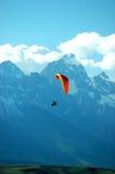 Vliegend Wyoming royalty-vrije stock afbeelding