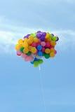 Vliegende ballon Royalty-vrije Stock Foto's