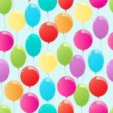 Vliegende ballons vector illustratie