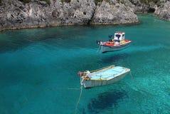 Vliegende boten Stock Afbeeldingen