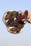Vliegende carrousel Stock Foto's