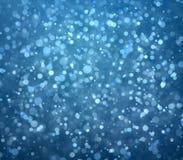 Vliegende deeltjes Stock Afbeelding