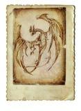 Vliegende draak Stock Fotografie