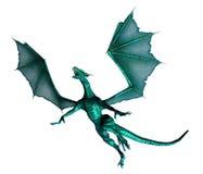 Vliegende draak Royalty-vrije Stock Afbeeldingen