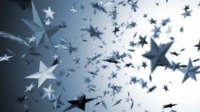 Vliegende sterren Stock Fotografie