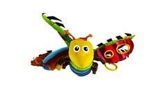 Vliegende stuk speelgoed bij Stock Foto