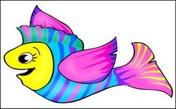 Vliegende Vissen royalty-vrije illustratie
