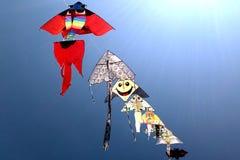 Vliegende vliegers Royalty-vrije Stock Foto's