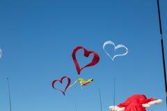 Vliegende vliegers Royalty-vrije Stock Afbeeldingen
