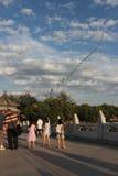 Vlieger bij het Paleis van de Zomer Stock Afbeelding