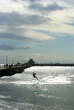 Vlieger het surfen Stock Foto's