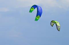 Vlieger het surfen Royalty-vrije Stock Afbeeldingen