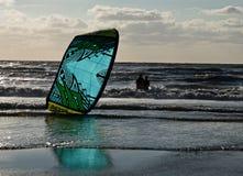 Vlieger het surfen Royalty-vrije Stock Foto's