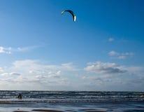 Vlieger het surfen Stock Fotografie