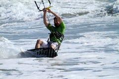 Vlieger het surfen Stock Foto