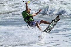 Vlieger het surfen royalty-vrije stock foto