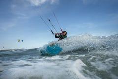 Vlieger het surfen Royalty-vrije Stock Fotografie