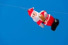 Vlieger met blauwe hemel Stock Fotografie