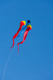 Vlieger met blauwe hemel Stock Foto
