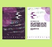 Vlieger, pamflet, boekjeslay-out Het malplaatje van het Editableontwerp A4 Vector Illustratie