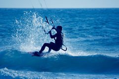 Vlieger surfer Royalty-vrije Stock Fotografie