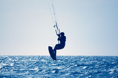 Vlieger surfer Stock Foto