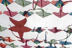 Vliegers op achtergrondhemel Royalty-vrije Stock Afbeelding