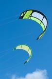 Vliegers op lucht Royalty-vrije Stock Afbeeldingen