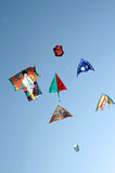 Vliegers in volledige lucht stock fotografie