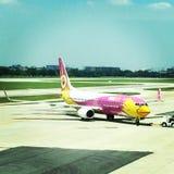 vliegtuig 737 Royalty-vrije Stock Foto