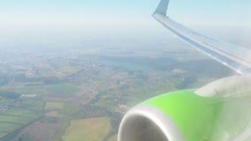 Vliegtuig stock footage